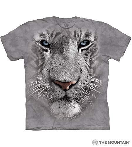 iger Face Adult T-Shirt, Grey, XL ()
