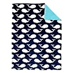 Nautica-Kids-Set-Sail-NauticalWhaleAnchor-Super-Soft-Double-Sided-Baby-Blanket-Navy-Aqua-White
