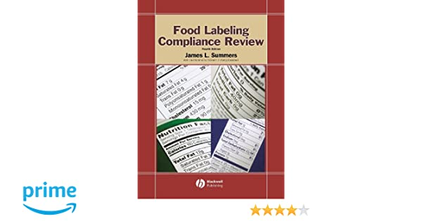 food labeling compliance review summers james l campbell elizabeth j betty