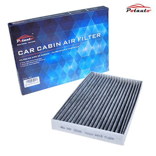 POTAUTO MAP 3004C Heavy Activated Carbon Car Cabin Air Filter Replacement compatible with CADILLAC, XLR, CHEVROLET, Corvette