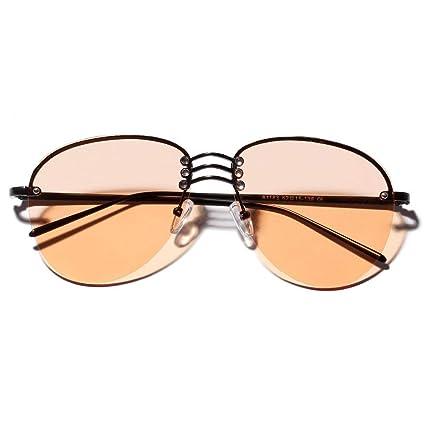 GCCI Gafas de sol sin montura de moda de verano Gafas de sol ...