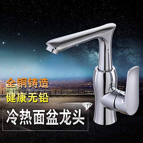 Does the Water Inlet Pipe Hlluya Professional Sink Mixer Tap Kitchen Faucet Basin taps full copper hot and cold basin sink basin, not the water inlet pipe