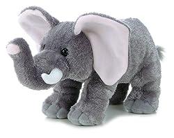 "Aurora World Flopsie Peanut Plush Elephant, 12"""