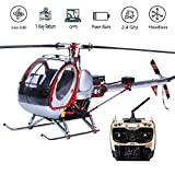 Scale Huges 300C Smart Drone 6CH RC Helicopter with GPS, Full Metal 450L Heli 6CH 3D 6-axis-Gyro Flybarless GPS RC...