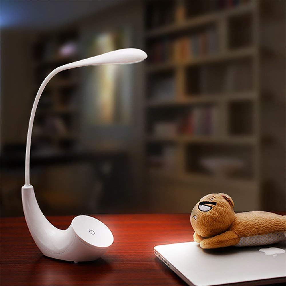 coersd LED Desk Lamp Dimmable Eyecare Reading Lamp Folding Control Table Lamp
