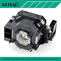 ELPLP41 Replacement Projector Lamp for Epson H283A EX21 EMP-S5 PowerLite S5 77c