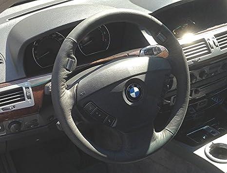 Amazon.com: RedlineGoods BMW 7-series E65 2001-08 funda para volante ENVÍO GRATUITO con: Automotive