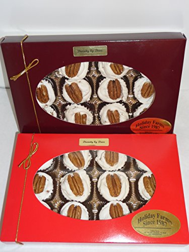 Pecan Fudge Gift Box - 12 Piece Divinity Gift Box (With Pecans)