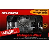 SYLVANIA H4656 Long Life Halogen Sealed Beam Headlight 100x165, (Contains 1 Bulb)