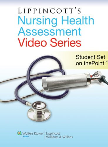 Health Assessment Software - Lippincott Nursing Health Assessment Video Series: Student Set on thePoint