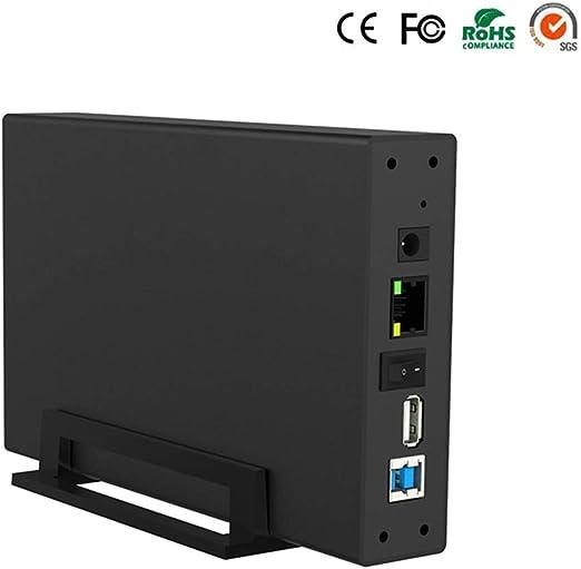 NASインテリジェントネットワークストレージハードディスクボックスパーソナルプライベートクラウドディスクマルチパーソンLAN共有USB3.0高速ストレージサポートNTFS / FAT3 / EXFAT