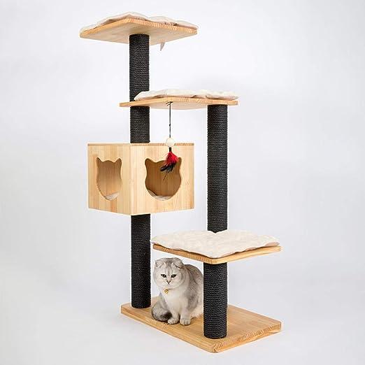 gengxinxin para Gatos con Árbol para Gatos Gatos Rascador con Rascador para Gatos Marco De Escalada
