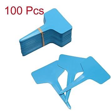 Dinglong 100pcs Jardinage Plante T Forme Impermeable A L Eau Tags