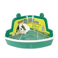 Cacerola Fabricación de plástico sin desperdicios Lock-N-Litter Sartén más grande para mascotas, Jumbo - Los colores pueden variar
