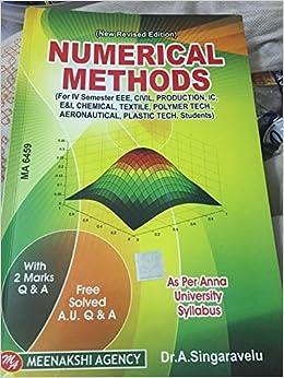 Numerical Methods Book Pdf