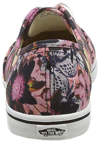 Vans Womens Authentieke Lo Pro Floralmix Schoenen, Zwart, 5 M Ons