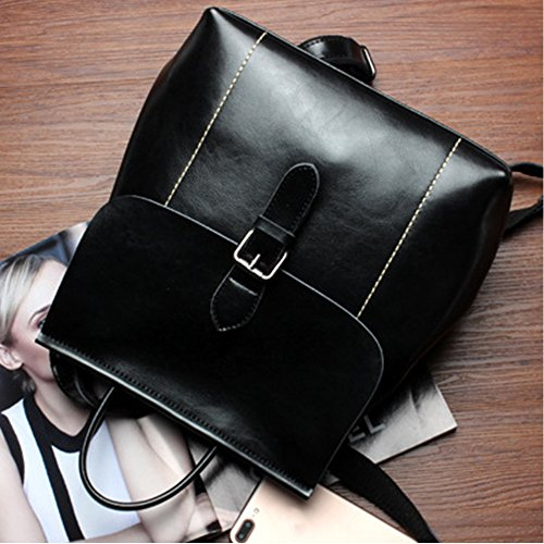 Fanmingsidi - Bolso mochila  para mujer negro negro negro