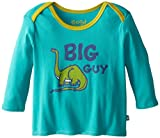 Life is buena bebé manga larga camiseta del timbre muchachote