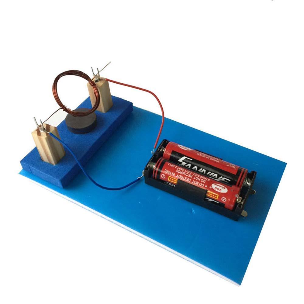 Amazon com: DIY Simple DC Electric Motor Model Assemble Kit