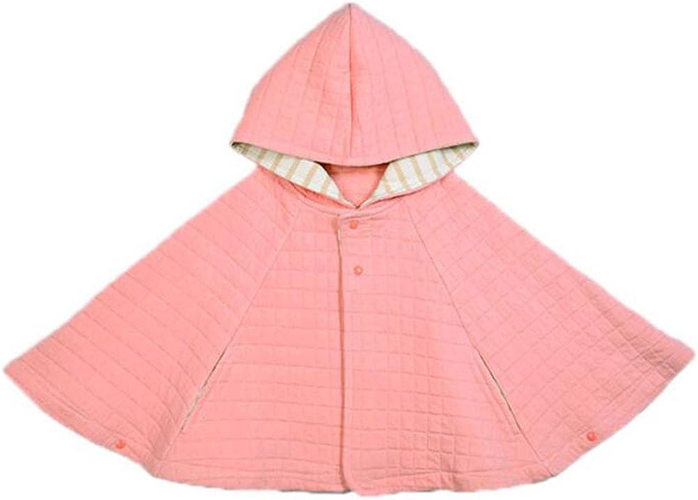 Babyprem Manteau b/éb/é Poncho Cardigan /à Capuche en Maille 0-23 Mois