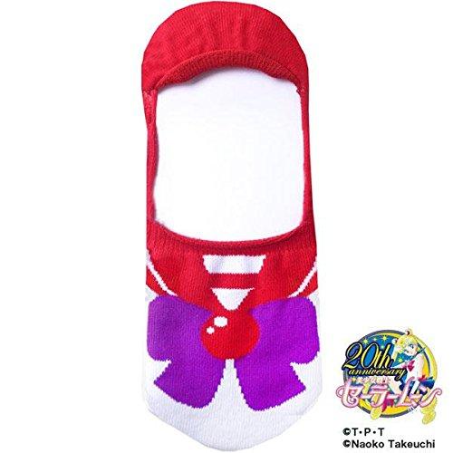 Sailor Moon Character 20th Anniversary Cute Socks (Sailor Mars Costume)
