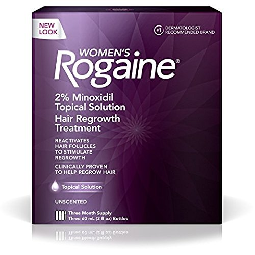 Rogaine Regrowth Treatment Solution 3 Quantity