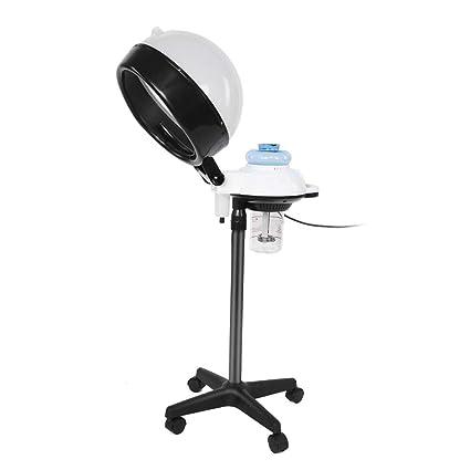 Secador Casco Profesional para Salon Spa, Vapor encapuchado con soporte para teñir el cabello y