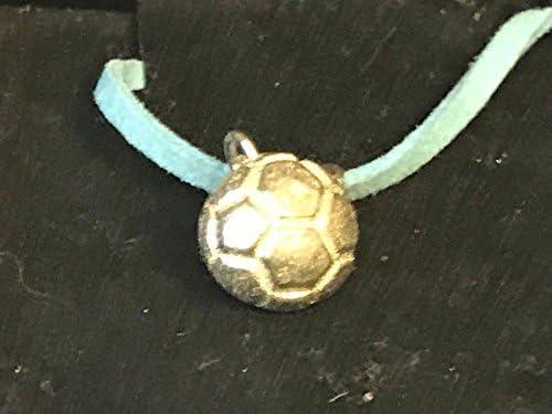 Pequeña pelota de fútbol 1,2 cm TG196 fina peltre inglés en un ...