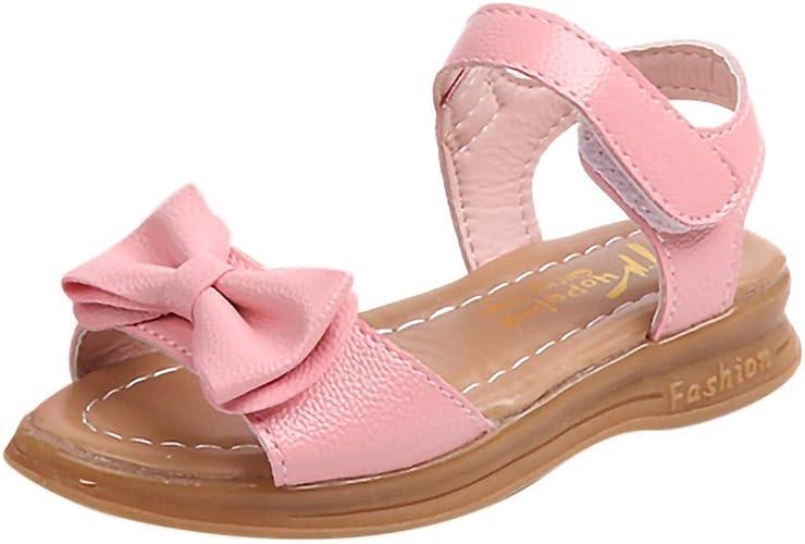 Newborn Kid Baby Girl Bowknot Sandals Summer Casual Crib Shoes First Prewalker