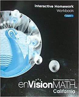 Envision math 5 interactive hmwrk workbook ca scott foresman envision math 5 interactive hmwrk workbook ca scott foresman 9780328384457 amazon books fandeluxe Image collections