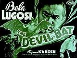 The Devil Bat POSTER Movie (1940) Style A 11 x 14 Inches - 28cm x 36cm (Bela Lugosi)(Suzanne Kaaren)(Dave O'Brien)(Guy Usher)(Yolande Donlan)