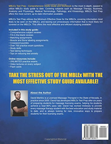 MBLEx Test Prep - Comprehensive Study Guide and Workbook: David ...