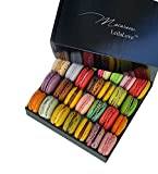 LeilaLove Macarons - 60 Macarons 16 flavors Taste Paris in the Comfort of Home