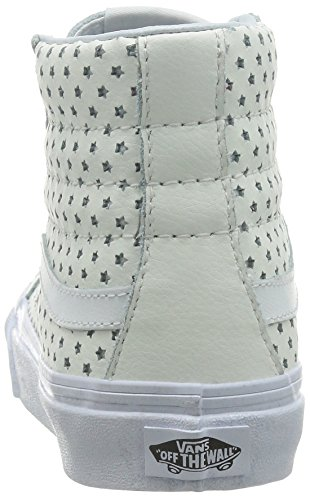 Scarpe Da Skate Unisex Sk8-hi Slim (perf Stars) Bianco