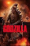 MCPosters Godzilla 2014 GLOSSY FINISH Movie Poster - MCP319 (24' x 36' (61cm x 91.5cm))