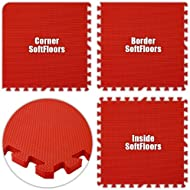 Best Floor Pad SoftFloors Red Total