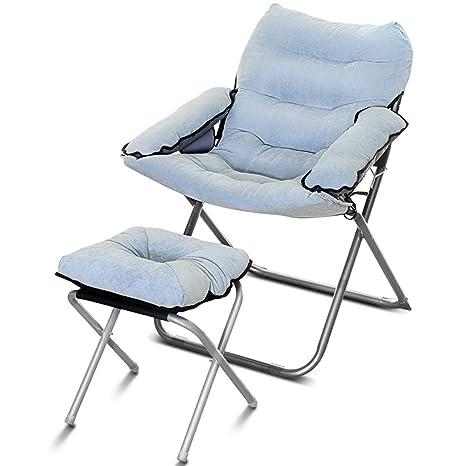 Amazon.com: Lazy Couch - Silla de salón con reposapiés y ...