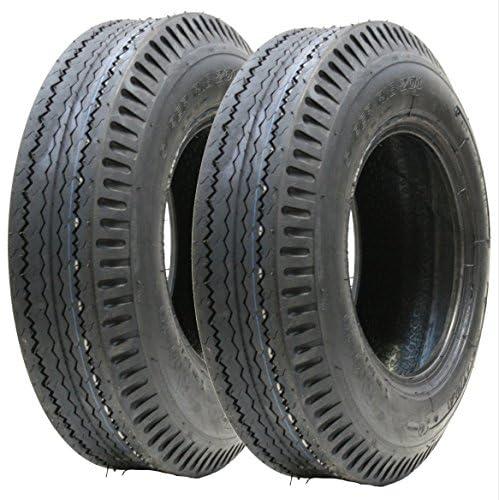 2 - 5.00-10 pneu à remorque 8 ply route rapide route légale