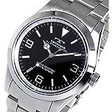 テクノス TECHNOS クオーツ メンズ 腕時計 TSM208SB ブラック