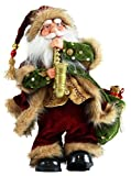 Windy Hill Collection 14″ Inch Standing Animated Musical Dancing Saxophone Santa Claus Christmas Figurine Figure Decoration M51403 Review