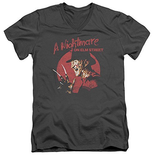 hombre Nightmare Elm de V Freddy Street para cuello antracita en On Circle camiseta TZYwPqTr