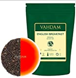 Original English Breakfast Tea Leaves (200+ Cups) Strong, Rich & Flavoury, Black Tea Loose Leaf, Sourced Direct from Plantations in India, Loose Leaf Tea, 16-ounce Bag