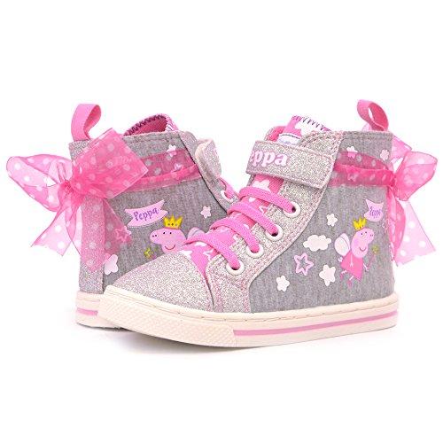 Grey Toddler Shoe - 8