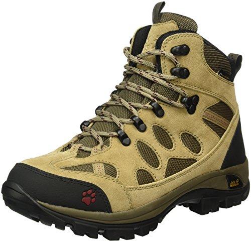 Jack Wolfskin Damen All Terrain 7 Texapore Mid W Trekking- & Wanderstiefel Beige (cabernet 2046)