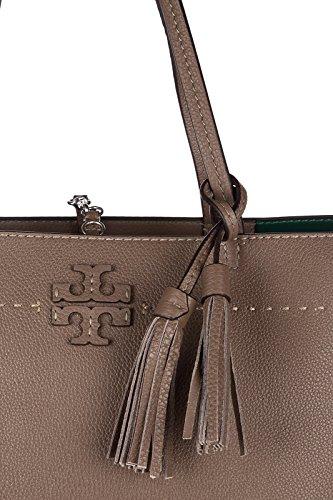 Tory Burch borsa donna a spalla shopping in pelle nuova mcgraw verde