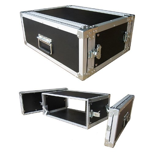 4 Space 4u 12 Inches Deep Medium Duty 1/4 Inch ATA Effects Rack Case - Closeout by Roadie Products, Inc.