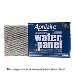 This genuine Aprilaire replacement water panel is the backbone of your Aprilaire humidifier. The heavy-duty aluminum mesh frame holds its shape over the life of the water panel as the porous ceramic-type coating absorbs water and maintains th...