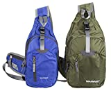 WASING Military Sport Pack Shoulder Sling Backpack