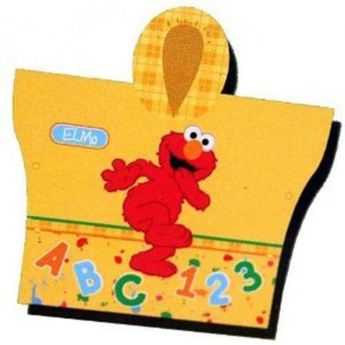 Elmo Hooded Rain Poncho Sesame