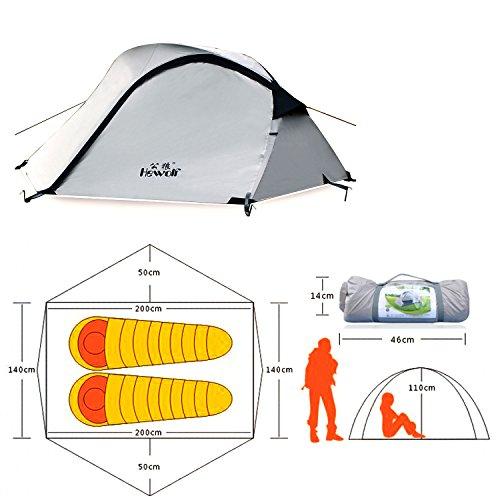 Hewolf Outdoor Waterproof Portable Camping Tent